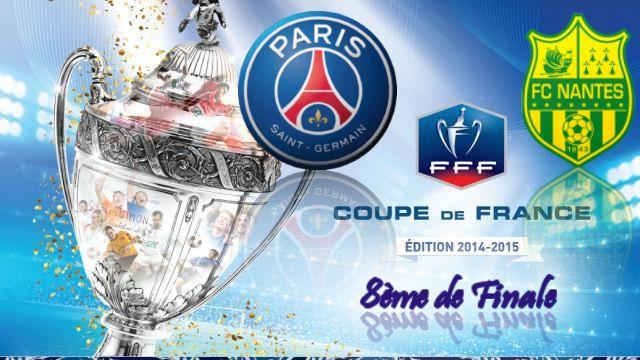 Coupe de france 8 me de finale psg nantes le 11 02 - Tirage 8eme de finale coupe de france ...