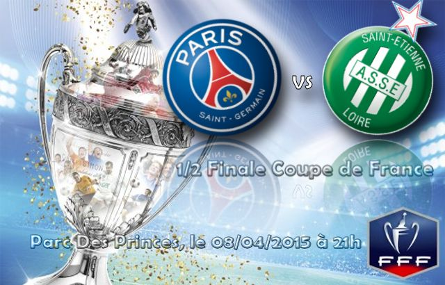 Coupe de france 1 2 finale psg as saint etienne le 08 - Resultats coupe de france 2015 ...