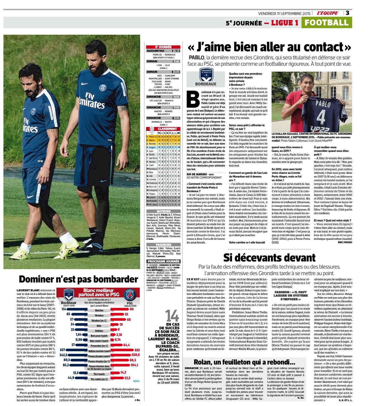 Serge Aurier Blaise Matuidi And Lucas Moura Five Players: [PSG Live] Ligue 1, 5ème Journée: PSG