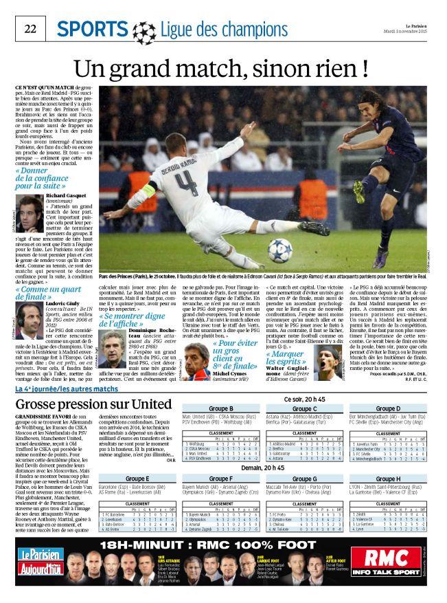 Le Parisien   Journal de Paris du mardi 03 novembre 2015_Page_22