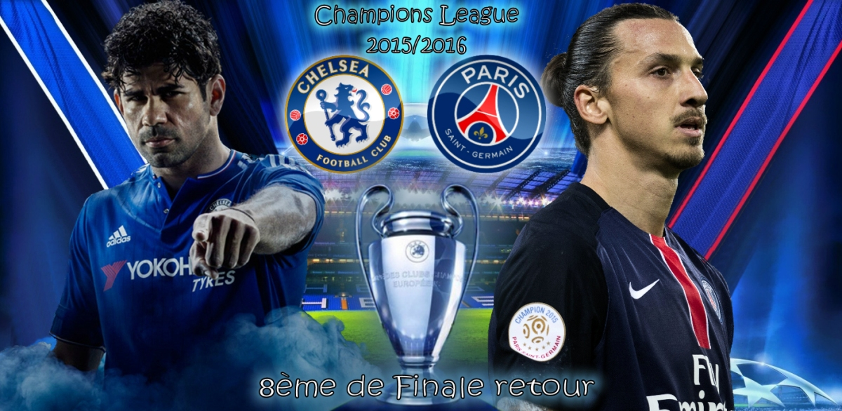 Rencontre 8eme de finale champions league
